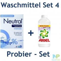Waschmittel Probier-Set 4