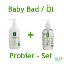 Änglamark Baby Bad / Baby Öl Probier-Set