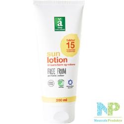 Änglamark Sonnenlotion LSF 15 (MITTEL) - für Kinder und Erwachsene