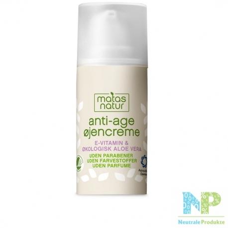 Matas Natur Anti-Age Augencreme 15 ml