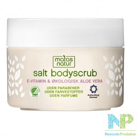 Matas Natur Salz Bodypeeling - für den Körper 200 g
