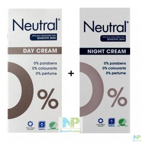 Neutral Day & Night Cream - Tages- und Nachtcreme im Set