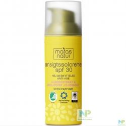 Matas Natur Anti-Age Sonnen-Gesichtscreme LSF 30 (HOCH) 50 ml