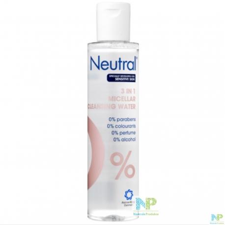 Neutral 3 in 1 Mizellen Reinigungswasser - alle Hauttypten 200 ml
