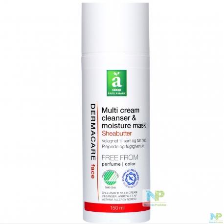 Änglamark DERMACARE Multi Cream Cleanser - Reinigungscreme & Feuchtigkeitsmaske 150 ml
