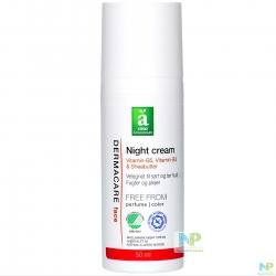Änglamark DERMACARE Nachtcreme - für empfindliche u. trockene Haut