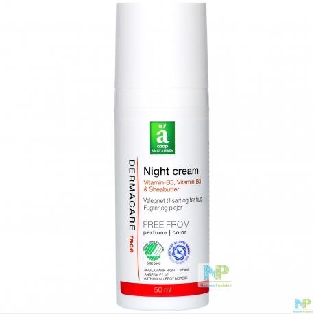 Änglamark DERMACARE Nachtcreme - für empfindliche u. trockene Haut 50 ml