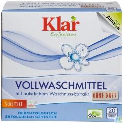 Klar EcoSensitive Vollwaschmittel Pulver 20 WL 1,1 kg