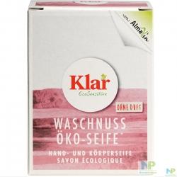 Klar EcoSensitive Öko Seife Waschnuss - Seifenstück