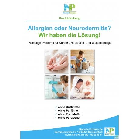"""Katalog Neutrale-Produkte """"gedruckte Variante"""""""
