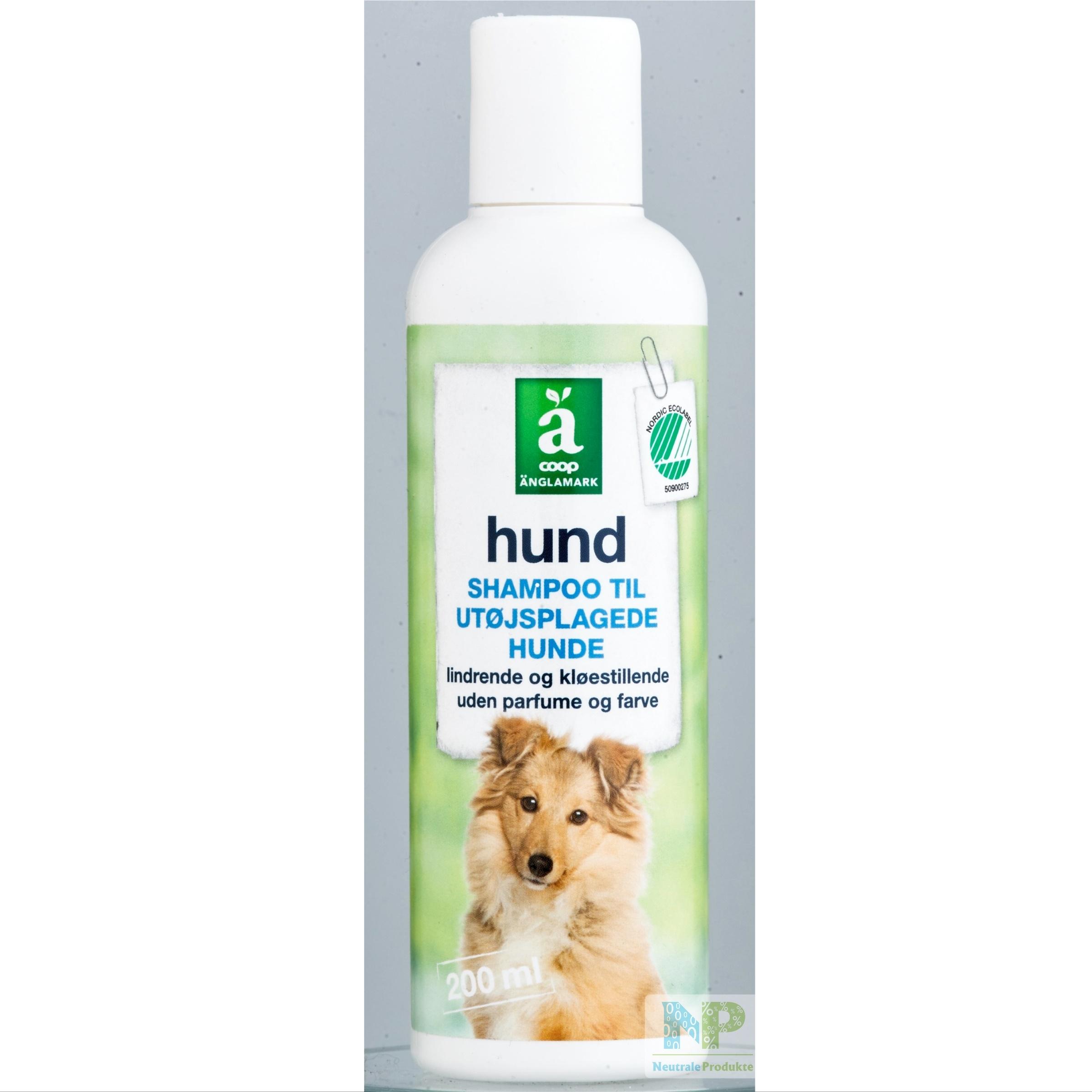 änglamark Shampoo Für Ungeziefer Geplagtebefallene Hunde Juckreizlindernd Und Hautberuhigend