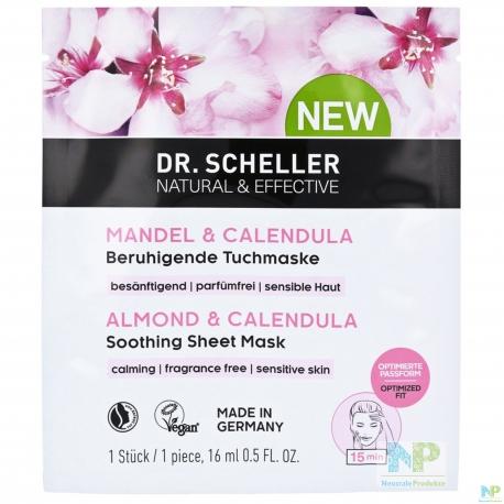 Dr. Scheller Beruhigende Tuchmaske für sensible Haut
