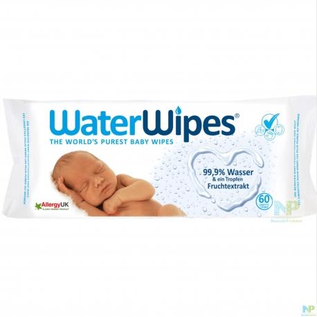 WaterWipes Feuchttücher - Reinigungstücher aus 99,9 % Wasser
