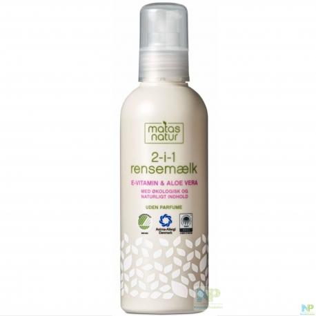 Matas Natur 2-IN-1 Reinigungsmilch 200 ml