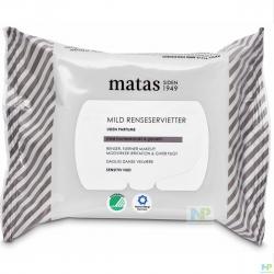 Matas Mild Reinigungstücher - empfindliche Haut 25 Stk.
