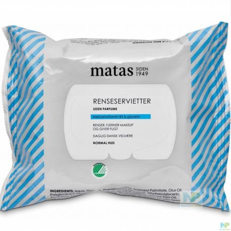 Matas Reinigungstücher - normale Haut 25 Stk.