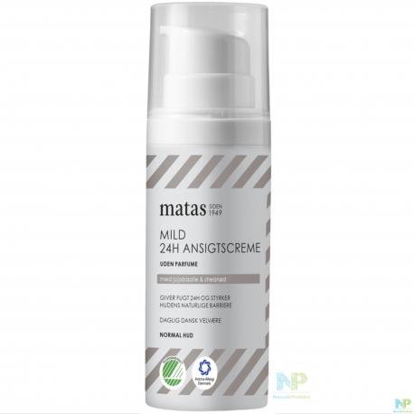 Matas Mild 24h Gesichtscreme - normale Haut 50 ml