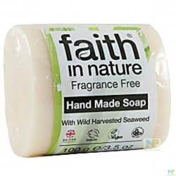 Faith in Nature Seifenstück - Seife für Hände & Körper