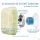 SAVONT Magnet Seifenhalter mit Saugnapf - Classic Edition