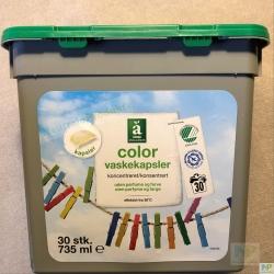 """Änglamark Waschkapseln """"Farbwäsche"""" 30 WL  735 ml"""