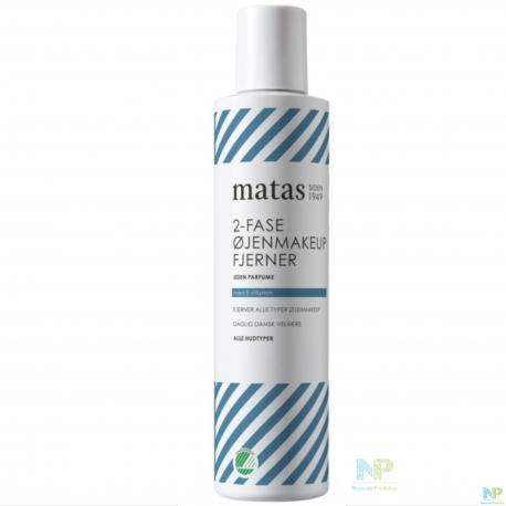 Matas 2-Phasen Augen-Make-up Entferner - alle Hauttypen 125 ml