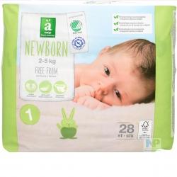 Änglamark Baby Windeln Newborn Gr. 1  2-5 kg  28 Stk.