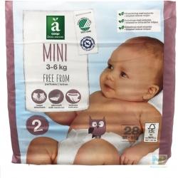 Änglamark Baby Windeln Gr.2 Mini 3-6 kg  28 Stk.