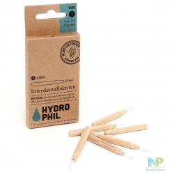 HYDROPHIL Nachhaltige Interdentalbürsten 6 Stk. - 0,45mm ISO 1