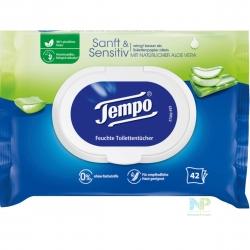 Tempo Feuchte Toilettentücher sanft & sensitiv 42 Stk.