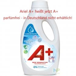 A+ Sensitive White - Flüssigwaschmittel Weiße Wäsche 16 WL