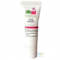 Sebamed Fußcreme für trockene Haut 10% Urea 10 ml Probe