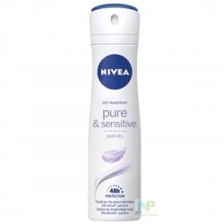 NIVEA Sensitive & Pure Deo-Spray 48h Anti-Transpirant
