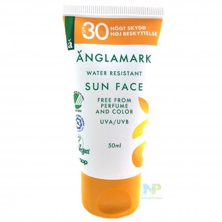 Änglamark Sonnen-Gesichtscreme SPF 30 (HOOG)