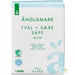 Änglamark Seifenstücke - Seife für Hände & Körper 2  x  85g