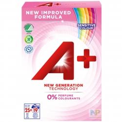 A+ Sensitive Colour - Waschpulver Farbwäsche 19 WL