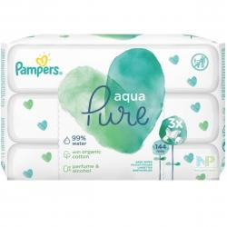Pampers Aqua Pure Feuchttücher - mit 99 % Wasser