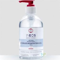 INEOS Steriles Desinfektionsgel - für die Hände