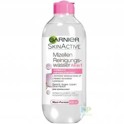 Garnier Mizellen Reinigungswasser All-in-1 für normale & empfindliche Haut