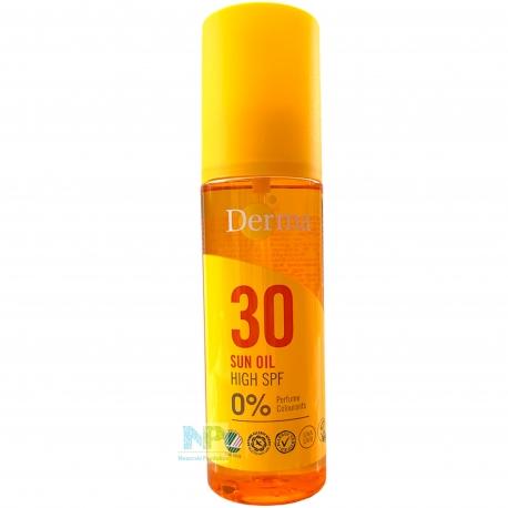 Derma Sun Oil - Sonnenöl Spray LSF 30 (HOCH) 150 ml
