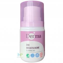 Derma Eco Woman 24h Gesichtscreme – für normale Haut