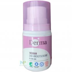 Derma Eco Woman 24h Gesichtscreme - für trockene Haut