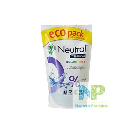 """Neutral """"Farbwäsche"""" Flüssigwaschmittel Refill 12 WL 900 ml"""