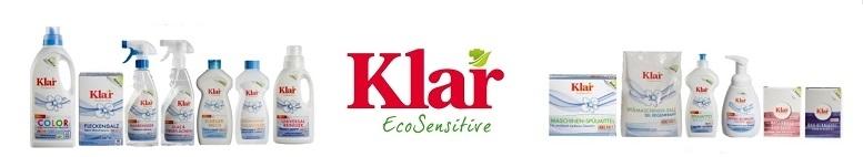 Klar - Das duftfreie Sortiment für den ganzen Haushalt